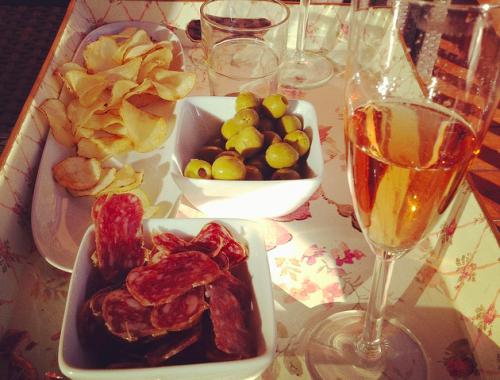 Bollinger champagne en tapas