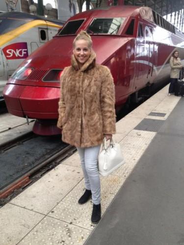 Thalys op Gare du Nord