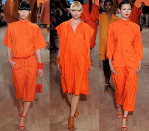 tangerine hermes