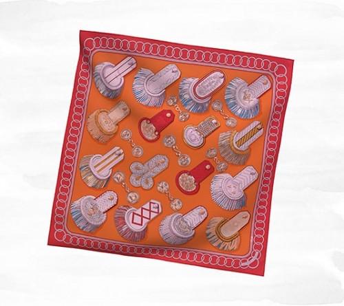 hermes shawl