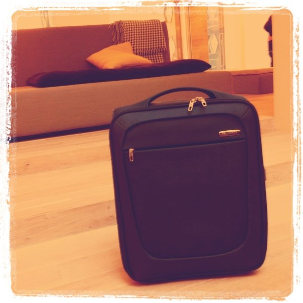 Meet perfect budget Samsonite; my travel mate