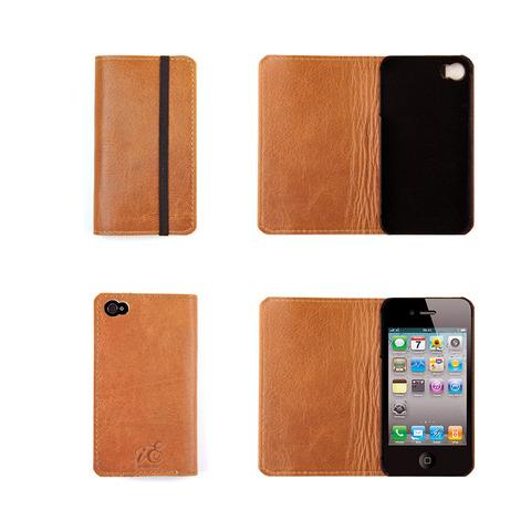 iPhone 4 iErnest hoesje cognac