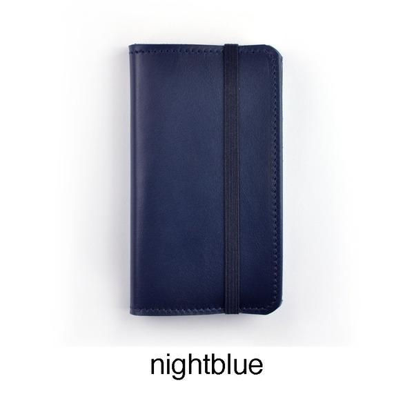 Nachtblauw iPhone hoesje iErnest
