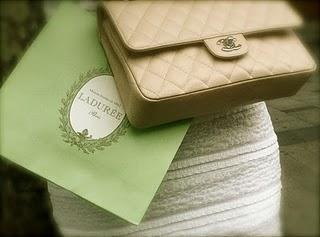 La Duree, Chanel, champagne in Parijs