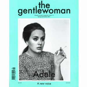 Adele covers The Gentlewoman