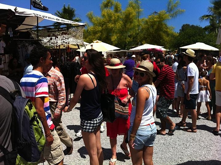 Las Dalias Hippie markt