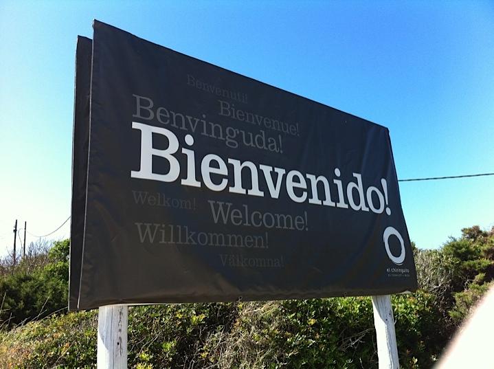 Welcome at El Chiringuito