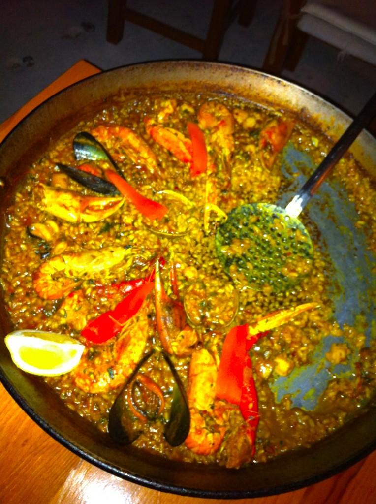 El Carmen in Cala D'Hort staat bekend om de goede paella