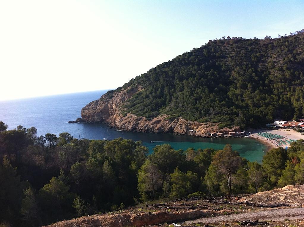 Uitzicht op Benirras beach