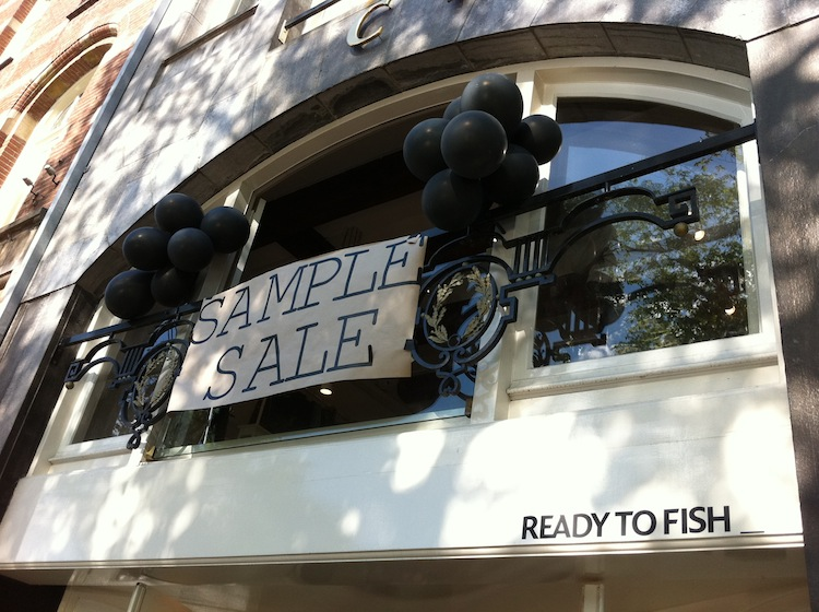 Sample Sale Ready to Fish
