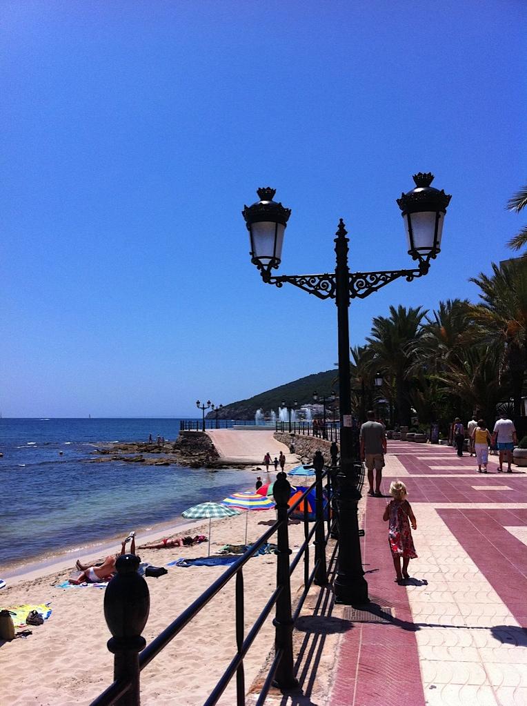 Ibiza Santa Eulalia beach