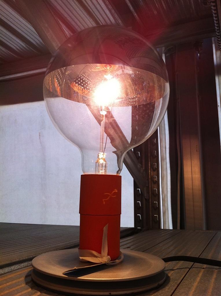 Lamp bij Sluiz die ik fantastisch vond