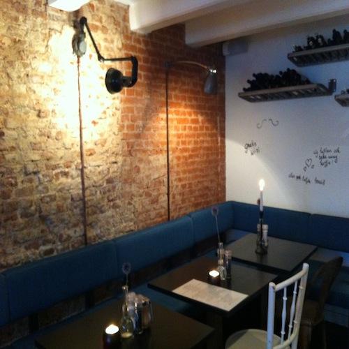 Interieur Bar Moustache Amsterdam