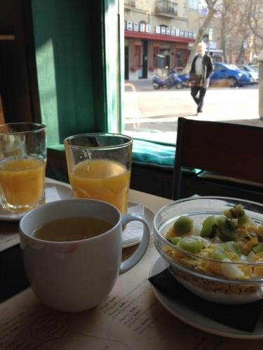 Taranna ontbijt