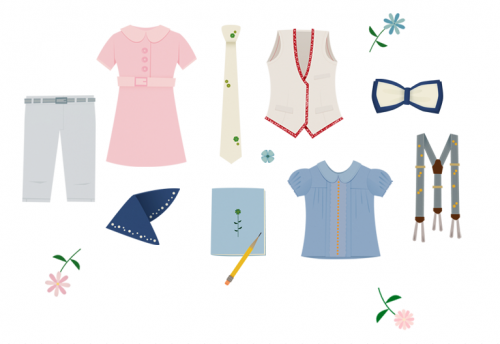 dames preppy chic