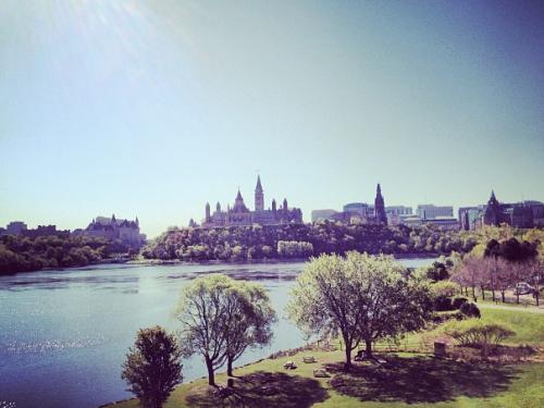 De skyline van Ottawa