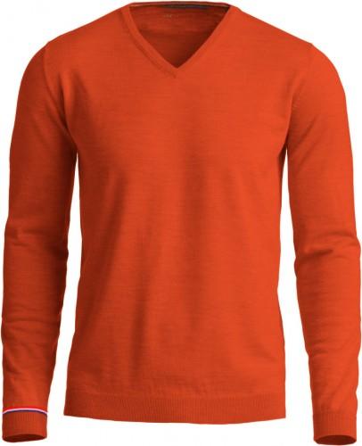 oranje trui met holland detail