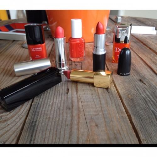 make-up oranje
