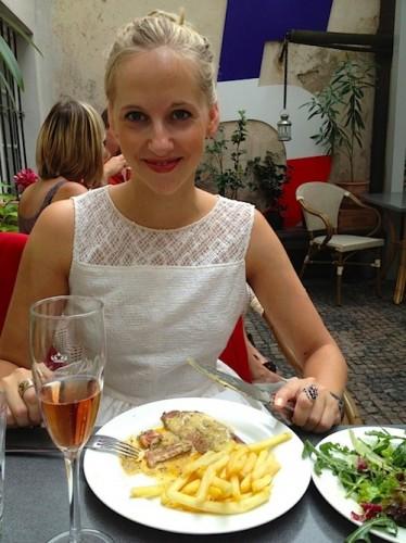 Cafe de Paris eten