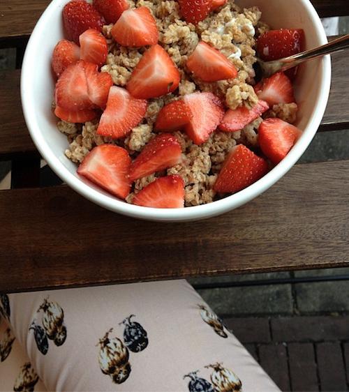 ontbijten met sabine de witte