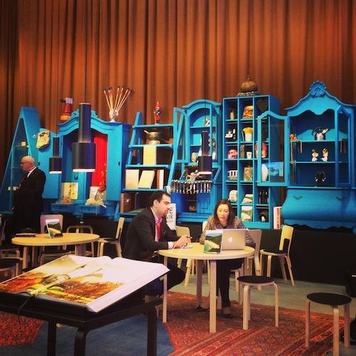 De stand van Design Hotels was 1 van de mooiste!