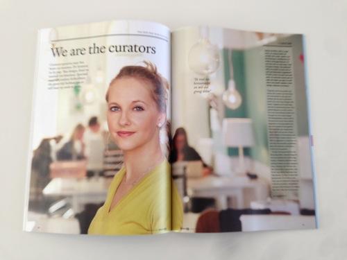 bright magazine curators