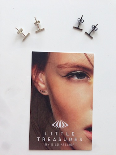 little treasures oblong studs