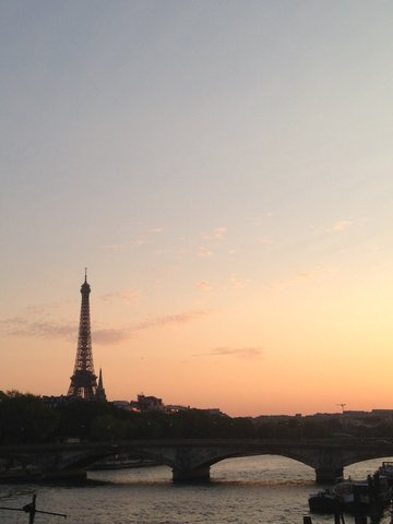 eiffeltoren-zonsondergang