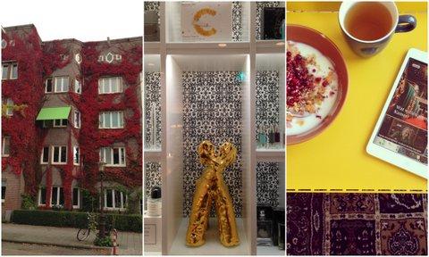 Herfstkleuren in Amsterdam, The Spa en wat is thuis ontbijten toch fijn!